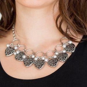 Free with Bundle Valentine Silver Necklace Set